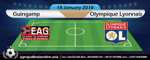 Prediksi Guingamp Vs Olympique Lyonnais 18 January 2018