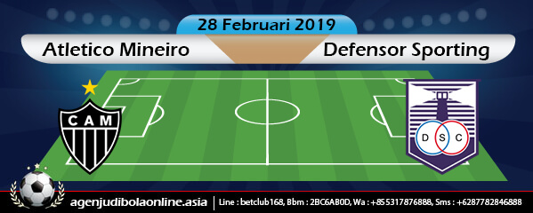Bursa Taruhan Atletico Mineiro Vs Defensor Sporting 28 Februari 2019
