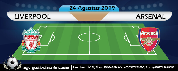 Prediksi Liverpool Vs Arsenal 24 August 2019